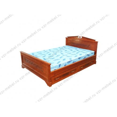 """Кровать односпальная """"Афина-2""""с ящиками"""