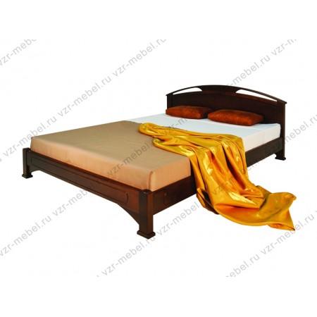"""Кровать из массива сосны """"Омега-1"""""""
