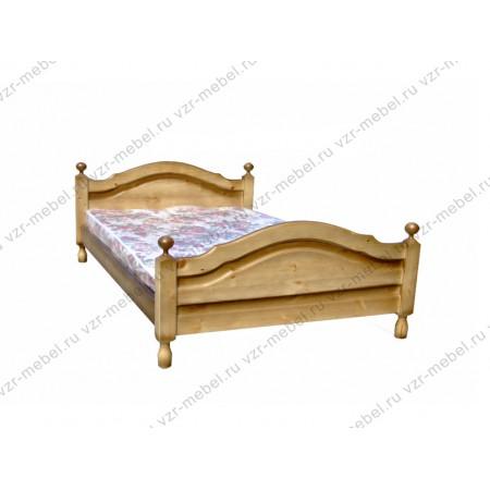 """Кровать из массива сосны """"Филенка"""""""