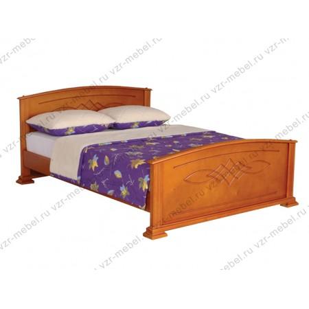 """Кровать из массива сосны """"Гера"""""""