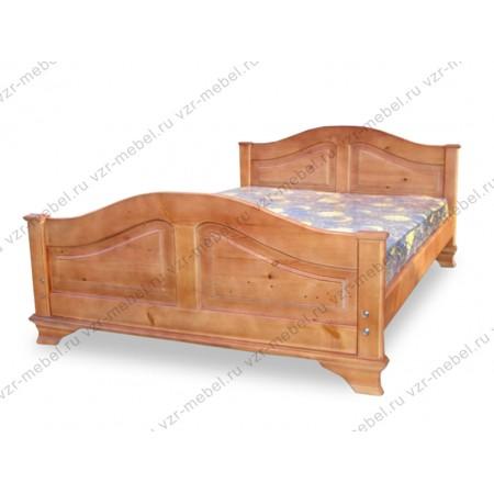 """Кровать из массива сосны """"Глория"""""""