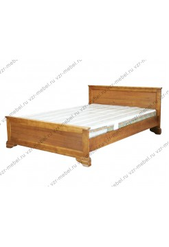 """Кровать из массива березы """"Классика"""" без рисунка"""