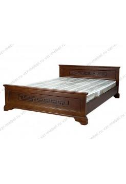 """Кровать из массива сосны """"Классика"""" с рисунком"""