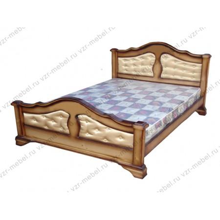 """Кровать """"Массив"""" с тканью"""