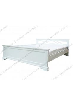 """Кровать односпальная """"Лира"""" белая"""