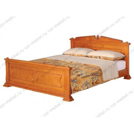 """Кровать из массива сосны """"Нефертити"""""""