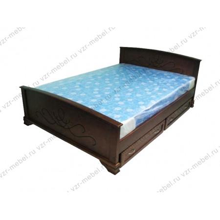 """Кровать из массива сосны """"Нова"""""""