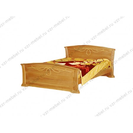 """Кровать из массива сосны """"Орхидея"""""""