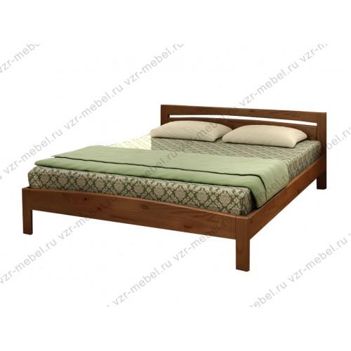 """Кровать из массива березы """"Реверанс"""""""