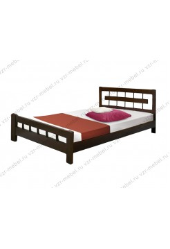 """Кровать из массива сосны """"Сакура"""""""