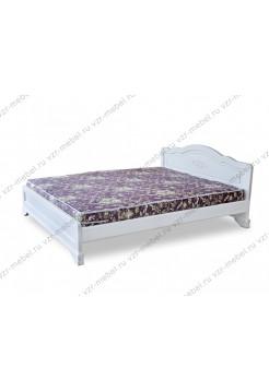 """Кровать двуспальная """"Сатори"""" белая"""