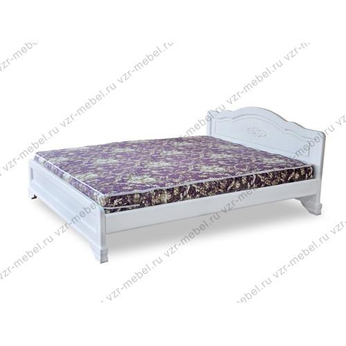 """Кровать односпальная """"Сатори"""" белая"""