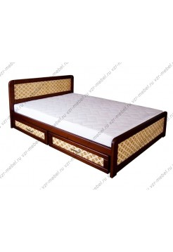 """Кровать из массива сосны """"Ткань"""""""