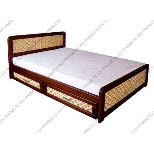 """Кровать односпальная """"Ткань"""""""