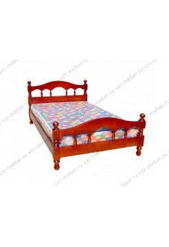 """Кровать из массива сосны """"Точеная-3"""""""