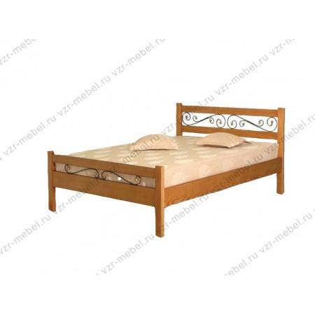 """Кровать """"Венеция"""" с ковкой"""