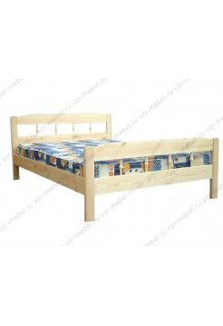 """Кровать из массива сосны """"Дачная"""""""