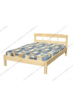 """Кровать из массива сосны """"Дачная"""" тахта"""
