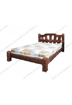 """Кровать из массива сосны """"Хуторок"""""""