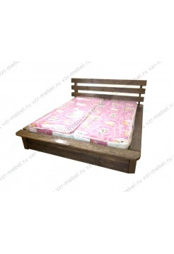 """Кровать из массива сосны """"Лель"""""""