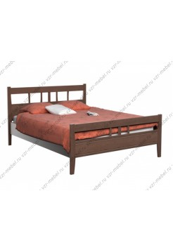 """Кровать из массива березы """"Лилия"""""""