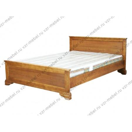 Кровать Классика из березы без рисунка 2х2 распродажа