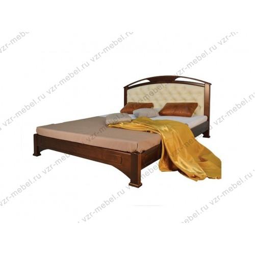 """Кровать из массива березы """"Омега-2"""""""