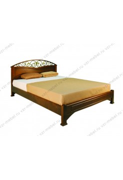 """Кровать из массива березы """"Омега-3"""""""