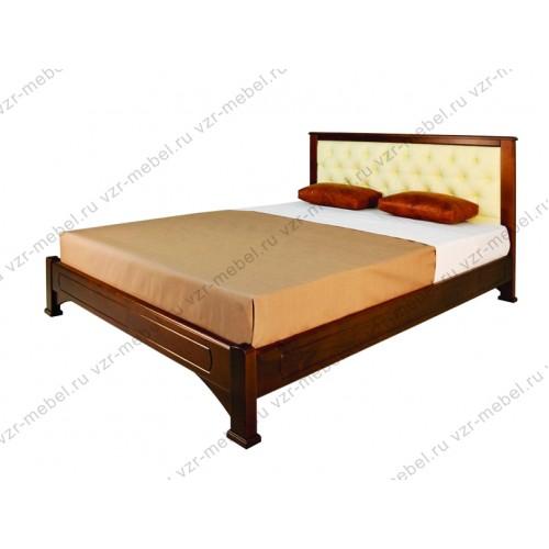 """Кровать из массива березы """"Омега-6"""""""