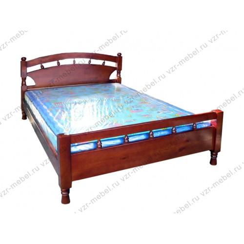"""Кровать двуспальная """"Солнце-1"""""""