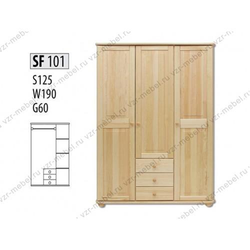 Шкаф из массива №101