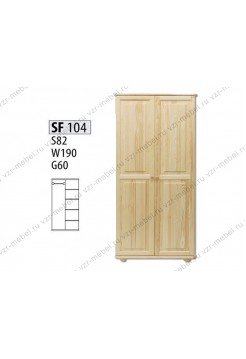 Шкаф из массива №104