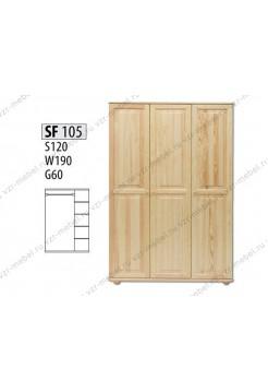 Шкаф из массива №105