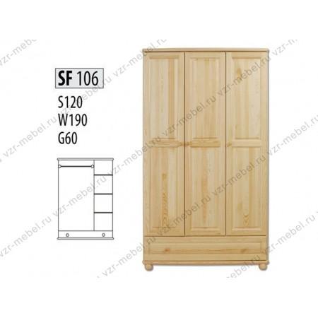 Шкаф из массива №106