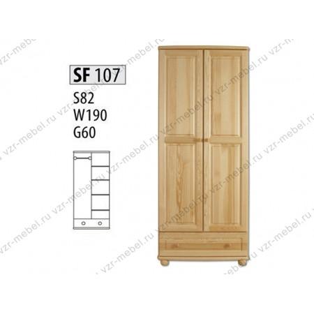 Шкаф из массива №107