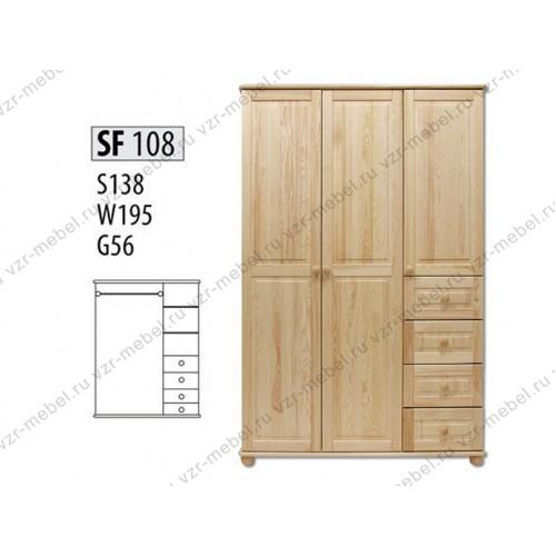 Шкаф из массива №108
