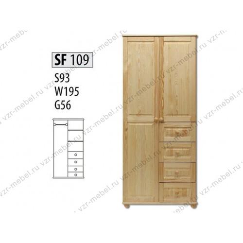 Шкаф из массива №109