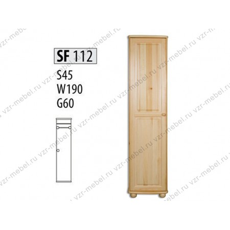 Шкаф из массива №112
