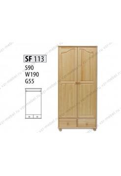 Шкаф из массива №113