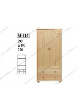 Шкаф из массива №114