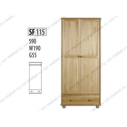 Шкаф из массива №115