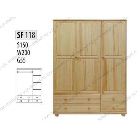 Шкаф из массива №118