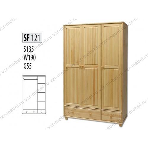 Шкаф из массива №121