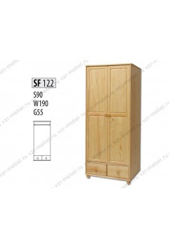 Шкаф из массива №122