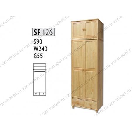 Шкаф из массива №126