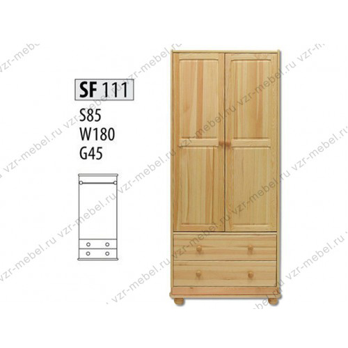 Шкаф из массива №111
