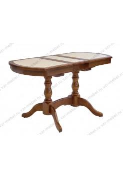 Стол обеденный с плиткой  №12
