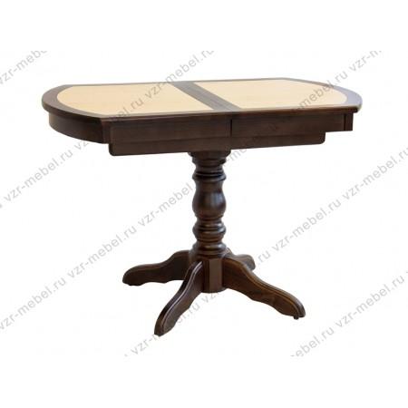 Стол обеденный с плиткой  №15