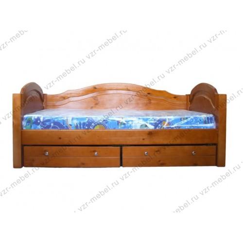 Кровать Антошка три спинки